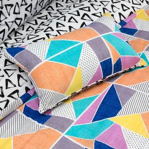 Geo Vibrance Cushion 30x50cm