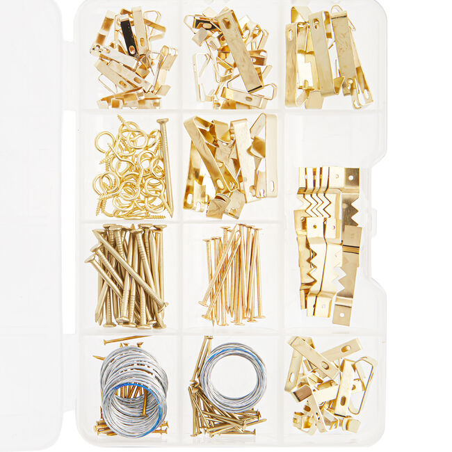 Picture Hanging Set 200 Pack