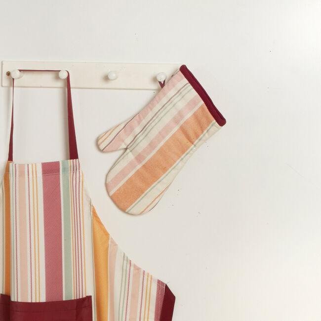Woven Stripe Single Oven Glove