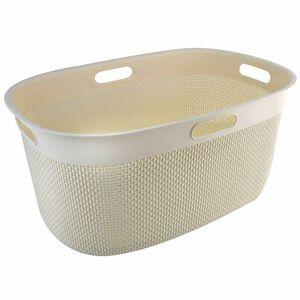 Filo Laundry Basket Ivory