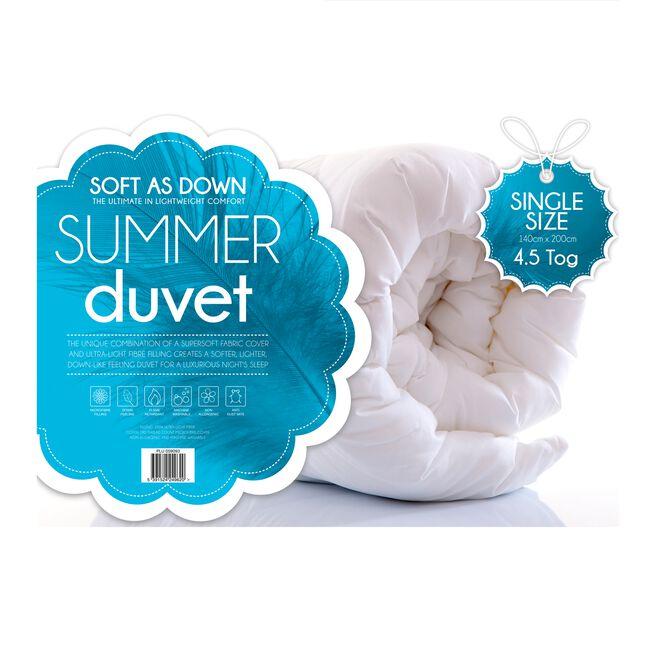 Soft as Down Lightweight Duvet Single