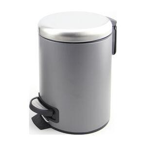 Alesso Charcoal Steel 3L Pedal Bin
