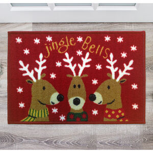 Jingle Bells Doormat 40x60cm