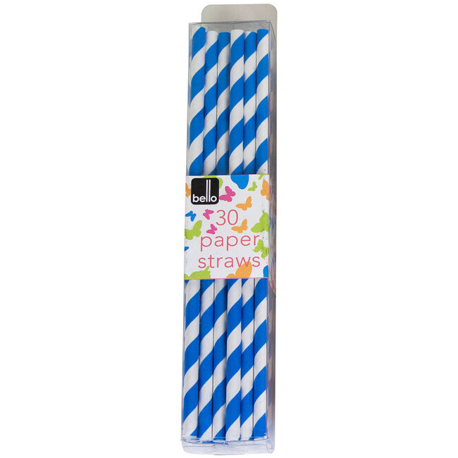 Bello Paper Straws 30 Pack