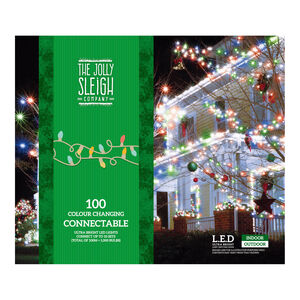 100 Connectable Lights Colour Changing
