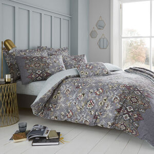 DOUBLE DUVET COVER Sinead Grey