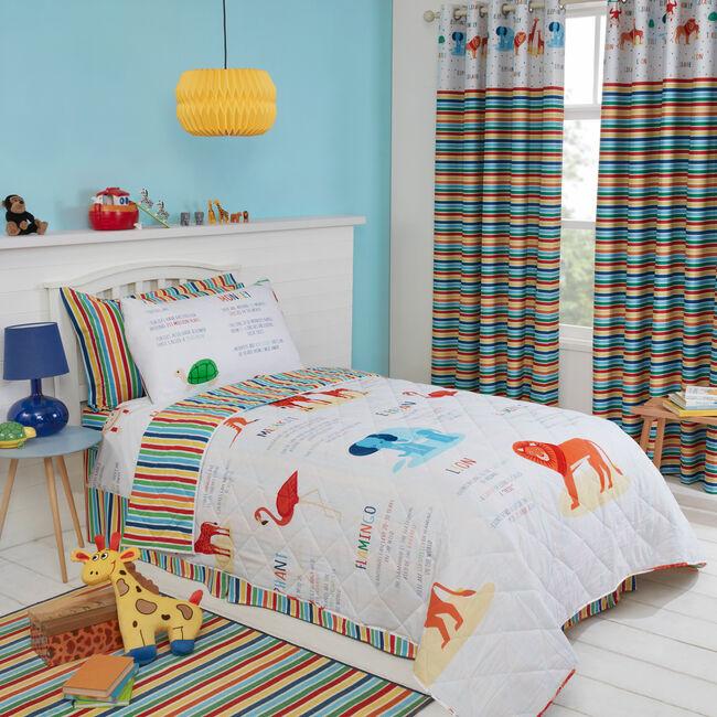 Jungle Safari Bedspread 200x220cm