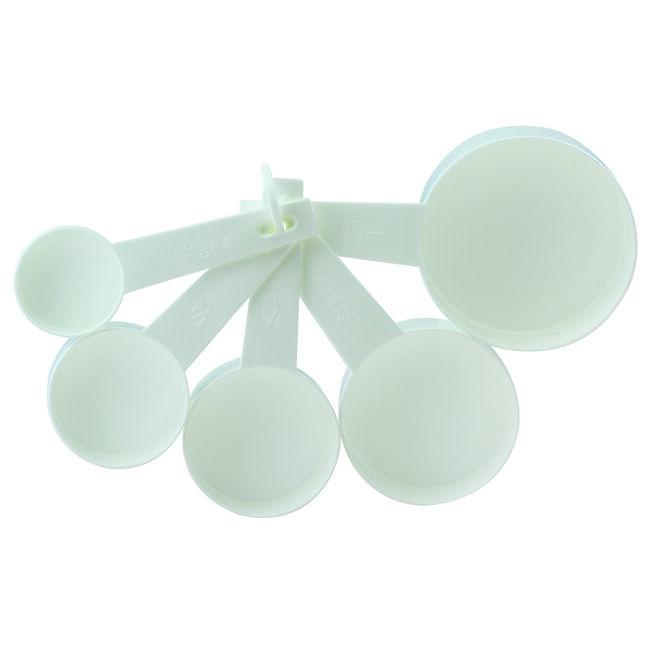 Apollo Measuring Cups Set of 5 - White
