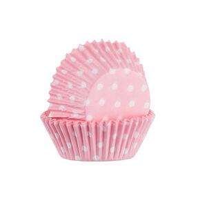 Mason Cash 60 Pink Polka Dot Cupcake Cases