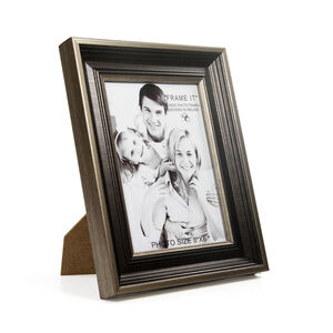 Antique Bronze Slim Photo Frame 6x8""