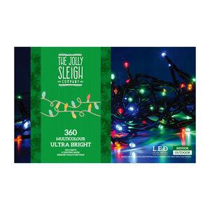 360 Multicolour Ultra Bright LED Lights