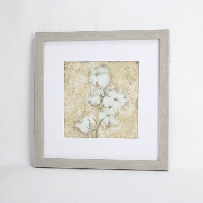 Full Bloom Framed Print 55x55cm