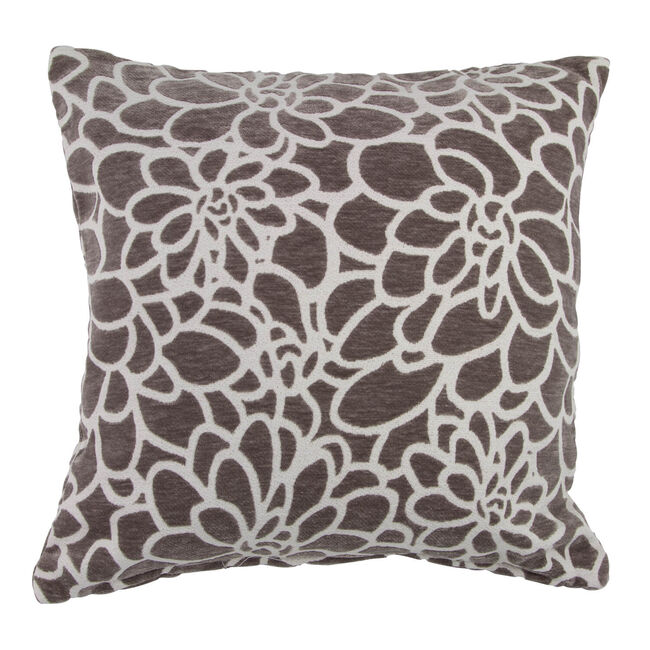 Katie Floral Grey Cushion 45cm x 45cm