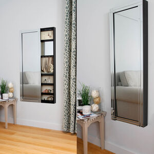 Dayton Classic Slide Mirrored Cabinet