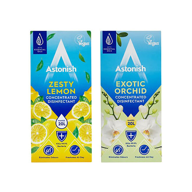 Astonish Concentrated Lemon & Orchid Disinfectant