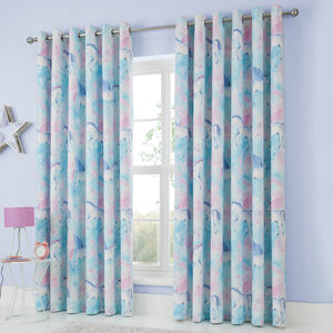 MYSTICAL UNICORN 66x54 Curtain