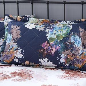Jacinta Navy Pillowshams 50 x 75cm