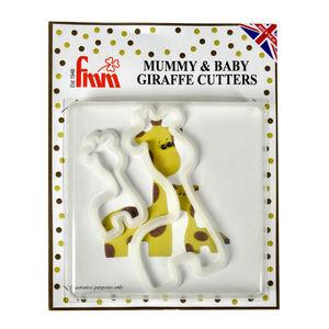 Sugarcraft Mummy & Baby Giraffe Set