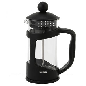 Glona Glass Cafetiere 350ml - Black