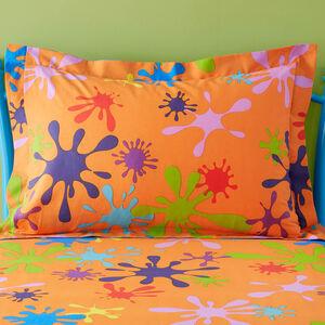 Monster Mania Oxford Pillowcase Pair - Orange