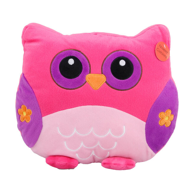 Owl Cushion Multi 35cm x 35cm