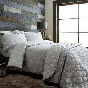 Brushed Cotton Stars Duvet Cover