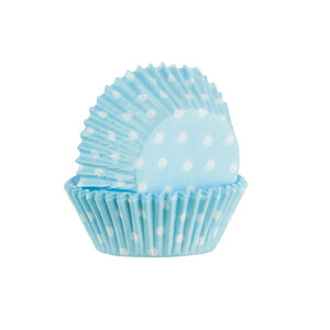 Mason Cash 60 Blue Polka Dot Cupcake cases