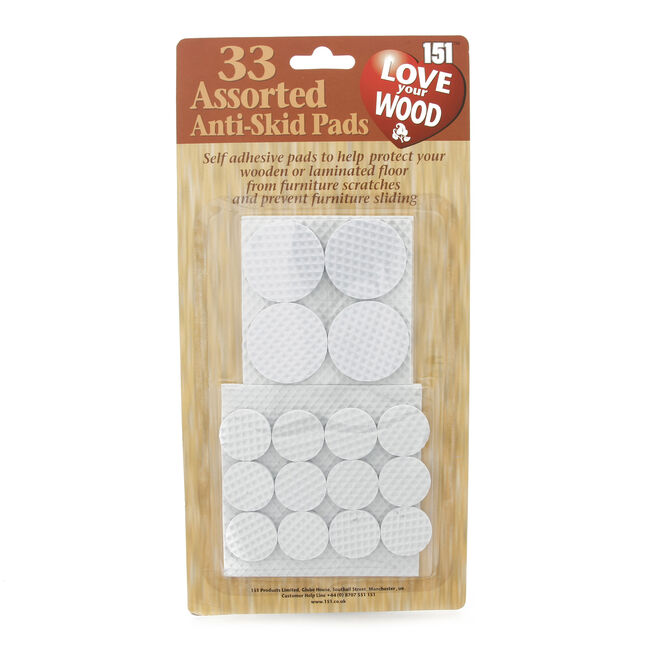 Anti Skid Pads 33 Pack