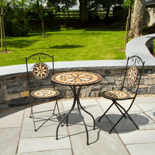 Diamond Mosaic 3Pc Garden Set