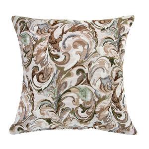 Mary Leaf Brown Cushion 45cm x 45cm