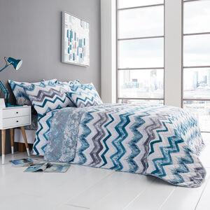 Hannah Teal Bedspread 200x220cm