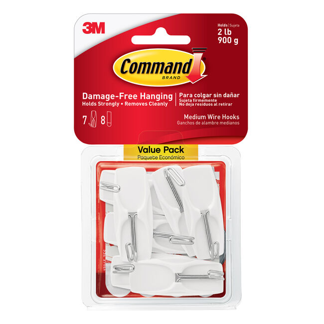 Command Wire Toggle 7Pk Hooks Value Pack