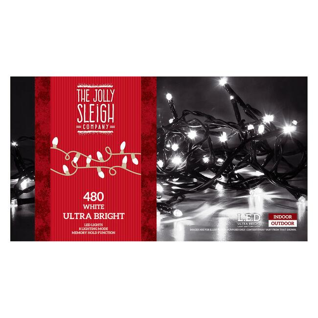 480 White Ultra Brights LED Lights