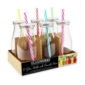 Glassworks 250ml Bottles 6 Pack