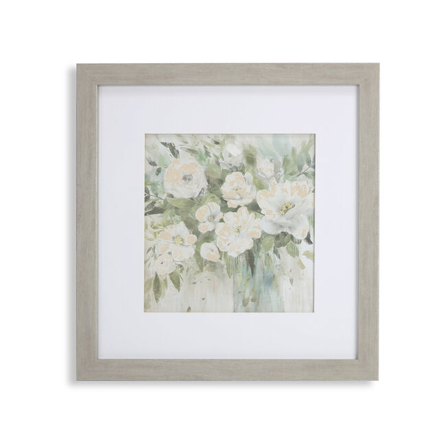 Blooming Bouquet Framed Print 55x55cm