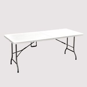 Rectangular Folding Table White