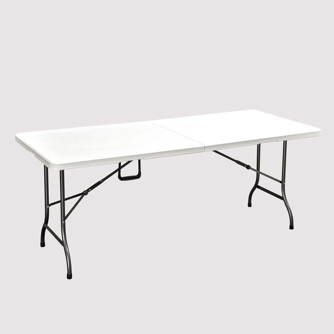 Rectangular Folding Table White