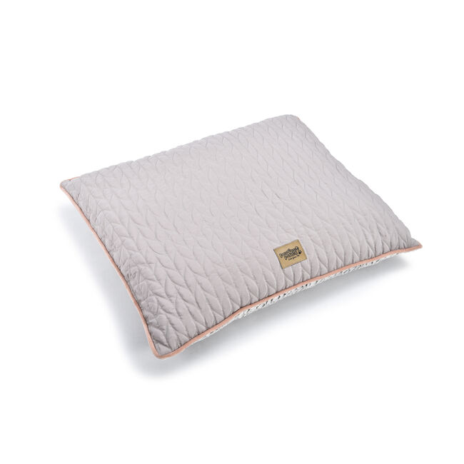 Quilted Soft Fleece Pet Cushion