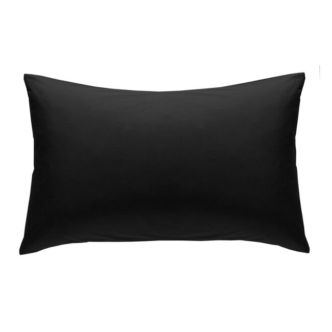 Percale Black Housewife Pillowcases