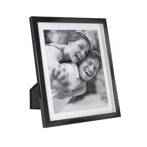 Herringbone Gun Metal Photo Frame