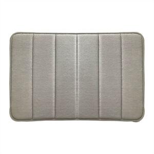 Memory Foam Bath Mat 40x60cm - Grey