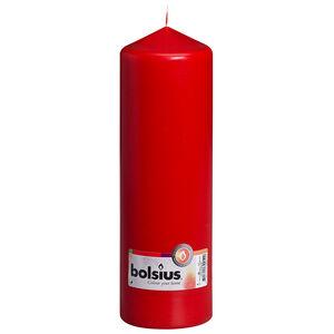 Bolsius Red Pillar Candle 25 x 8cm