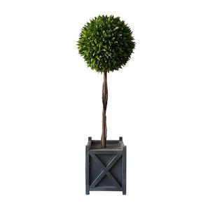 Faux Topiary Boxwood Tree