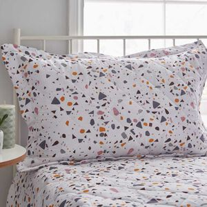 Char Grey Pillowshams 50cm x 75cm