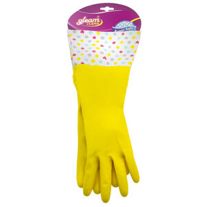 High Quality Latex Gloves Yellow
