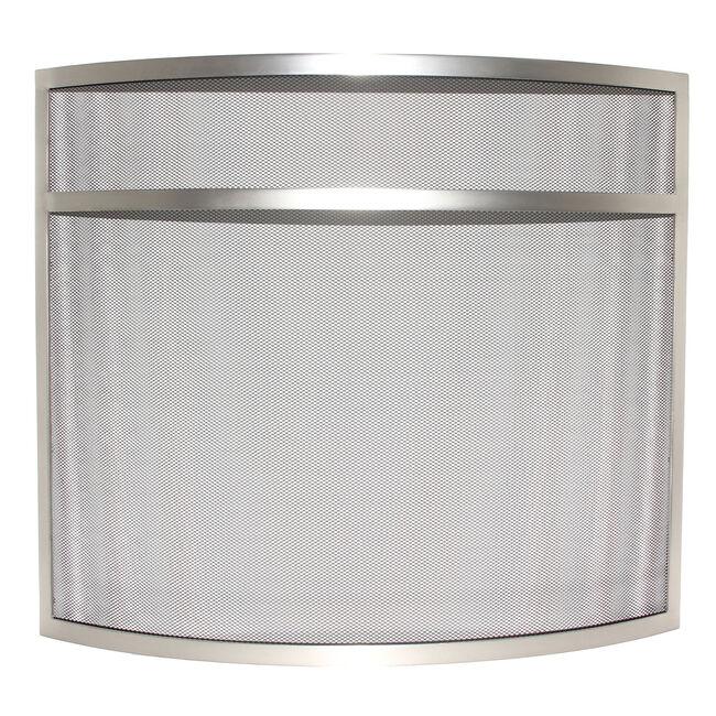 Silverflame Curved Spark Guard Nickel