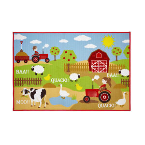Farmyard Fun Childrens Floormat