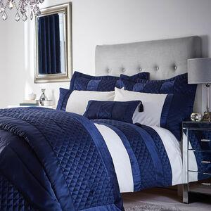 Classic Velvet Navy Pillowshams 50x75cm