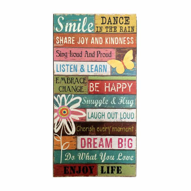 Smile, Dance in the Rain Wall Art
