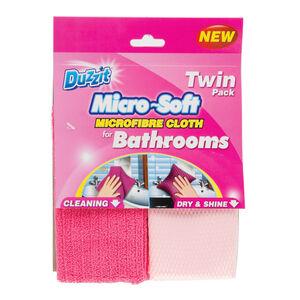 Duzzit Bathroom Cloth 2pk